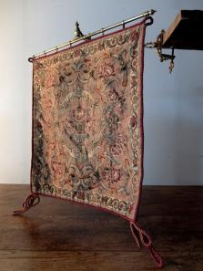 Tapestry with Brass Holder (A0916)