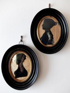 Frame Napoleon Ⅲ with Silhouette Portrait (A1216)