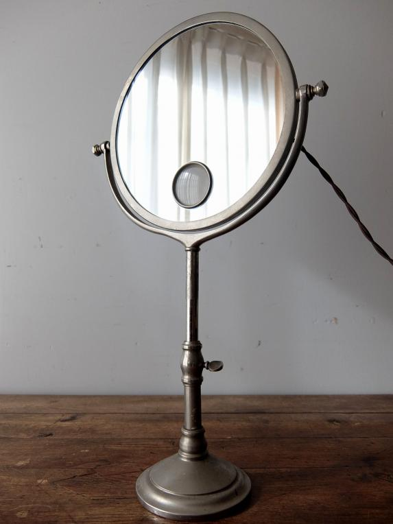Shaving Mirror with Lamp (B1118)